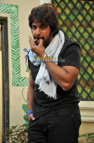 Chiranjeevi Sarja Whistle Movie Image