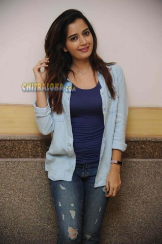 Ashika Image From Ramno 2 Pressmeet