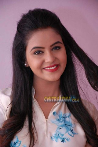 Chaitra Shetty Image From Rugged Teaser Launch