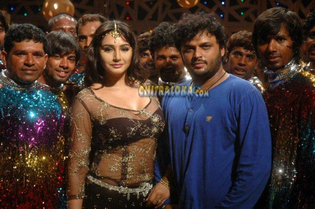 Ragini Special Song In V Movie Image