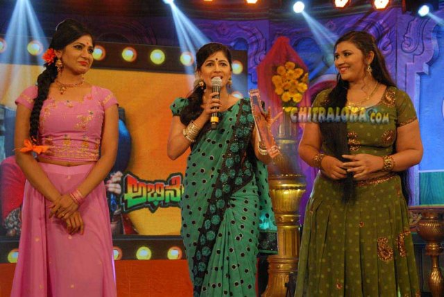 Abhinetri Audio Released Image