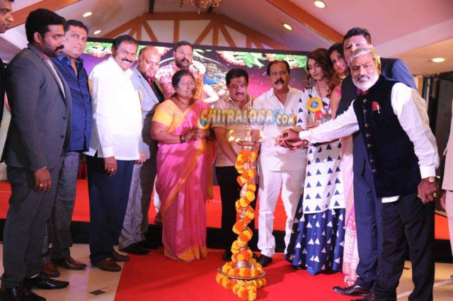 Celebrity Kabbadi League Logo Launch Image