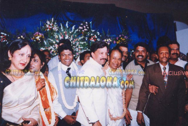Actor Puneet Rajkumar Wedding Photos Puneet Rajkumar Wedding Image