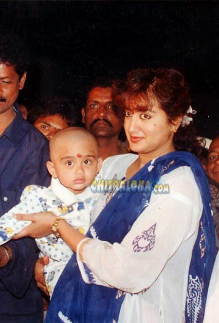 Abhishek and Sumalatha Image