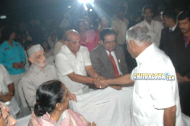 BS Yeddiyurappa Felicitation By KFCC In 2009