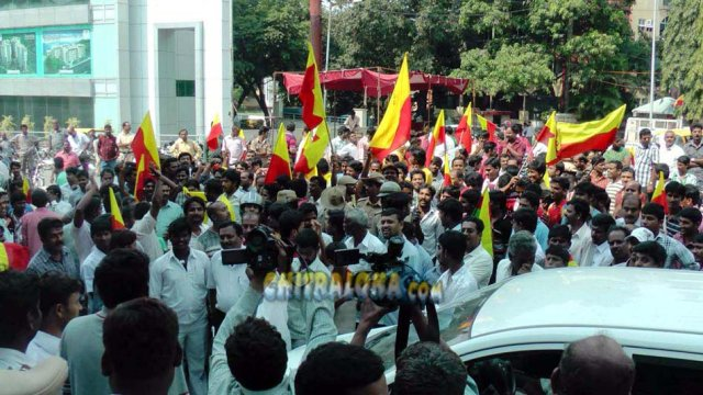 2012 Cauvery Water Protest Image