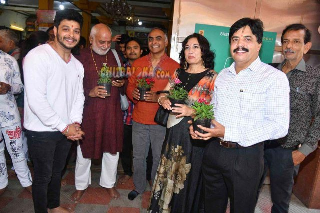 Old Monk Movie Launch Image