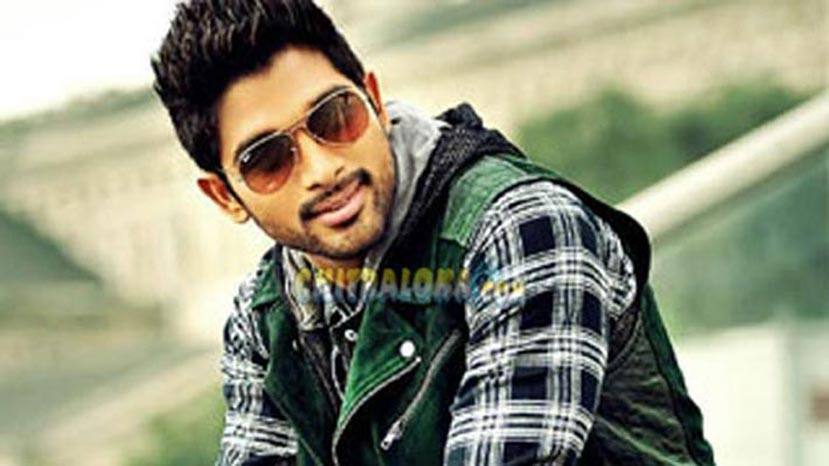race gurran actor allu arjun image