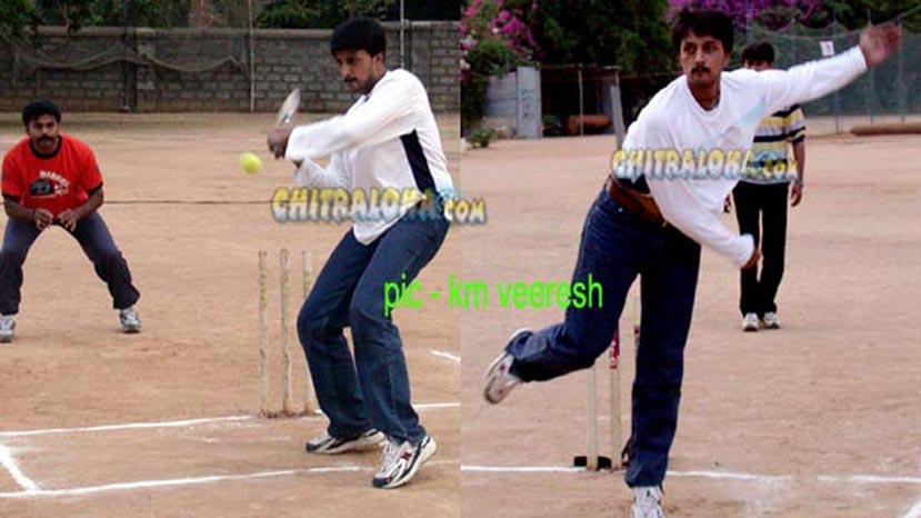 sudeep cricket image