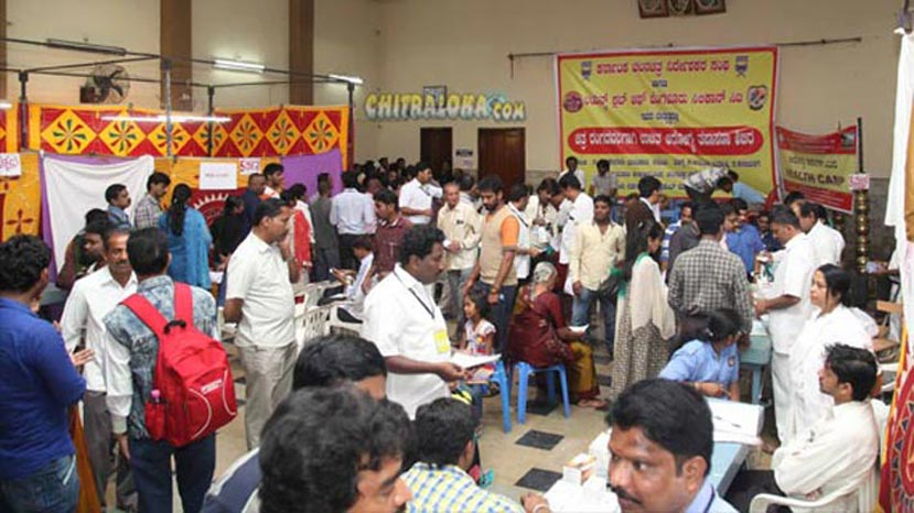 kanfida health check up camp image