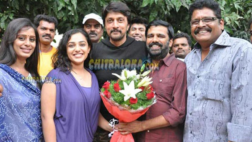 sudeep birthday celebration image