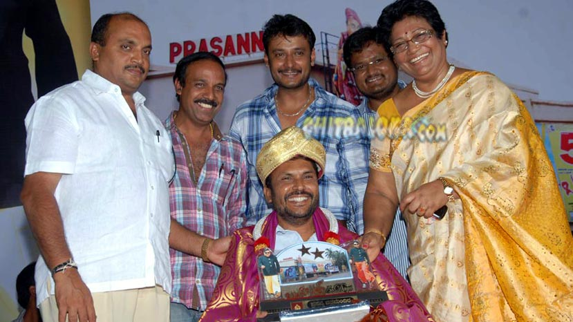 md sridhar to direct darshan's 50th film