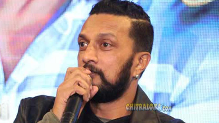 sudeep starts shooting for the villain