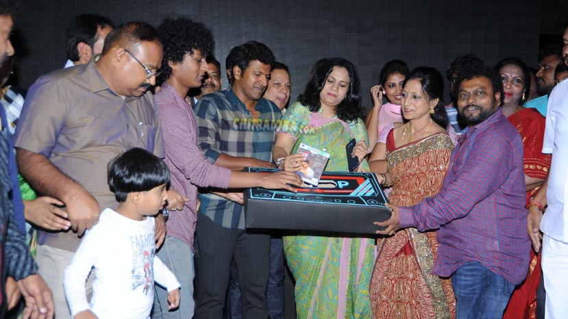 puneeth released aithiratha songs