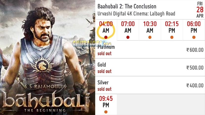 baahubali loots bengaluru before cm's announcement