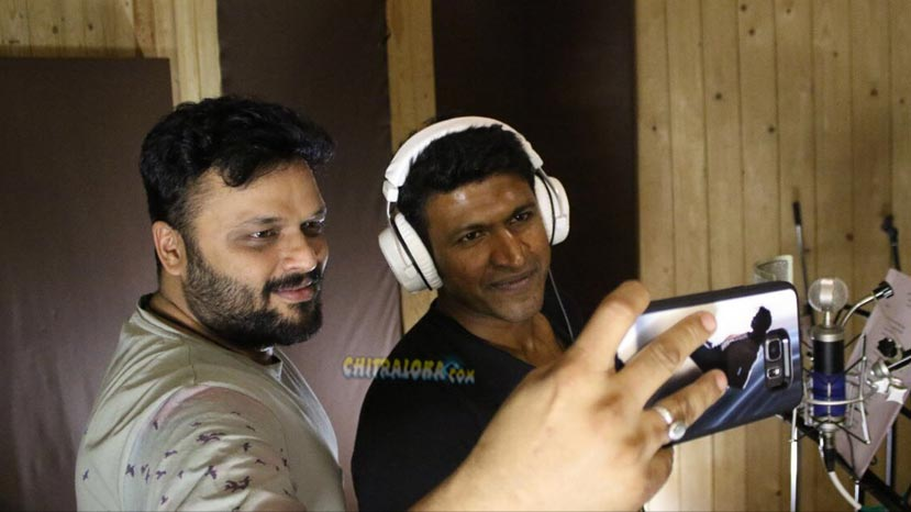 puneeth sngs for uppu huli khara
