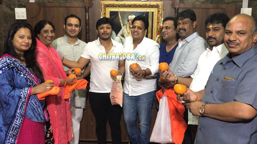 prashanth raj to direc ganesh in orange