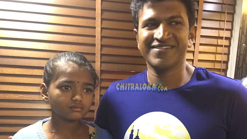puneeth meets fan preethi