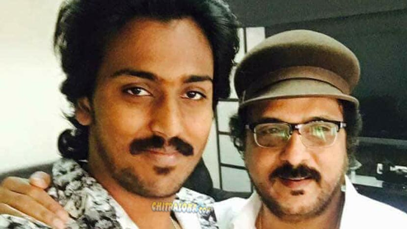 ravichandran's son preparation for debut movieVikram, Ravichandran Image