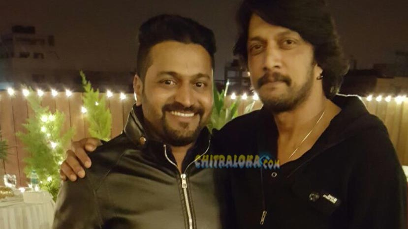rishab shetty to direct sudeep