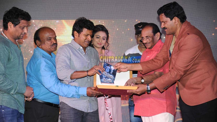 srivalli audio launch image