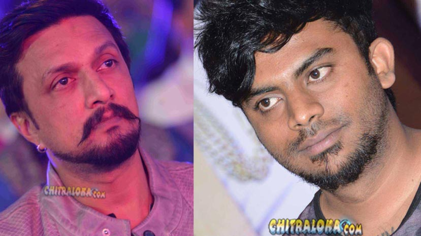 chandan reveals his love story to sudeep