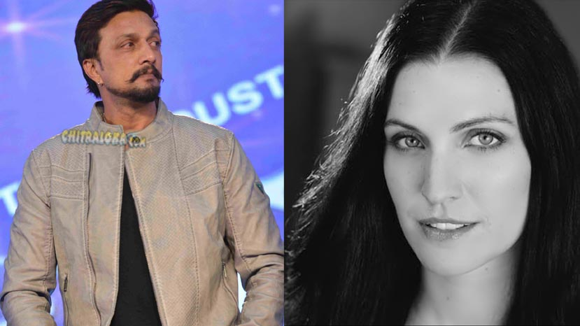 hollywood heroine for sudeep