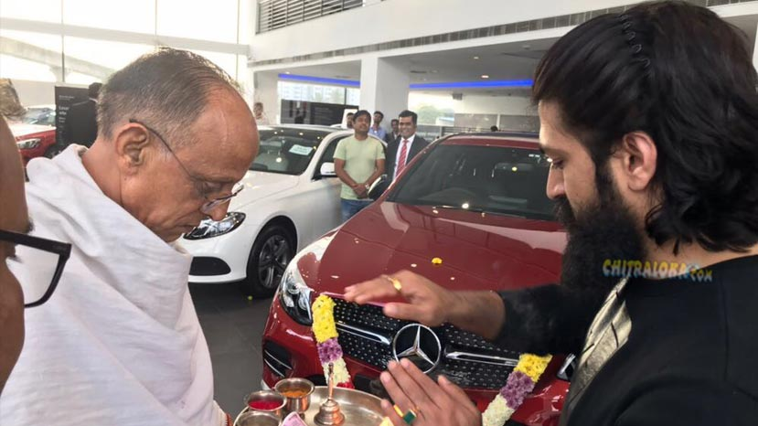 yash buys fancy car registration number