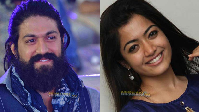 is rashmika yash's heroine for next movie
