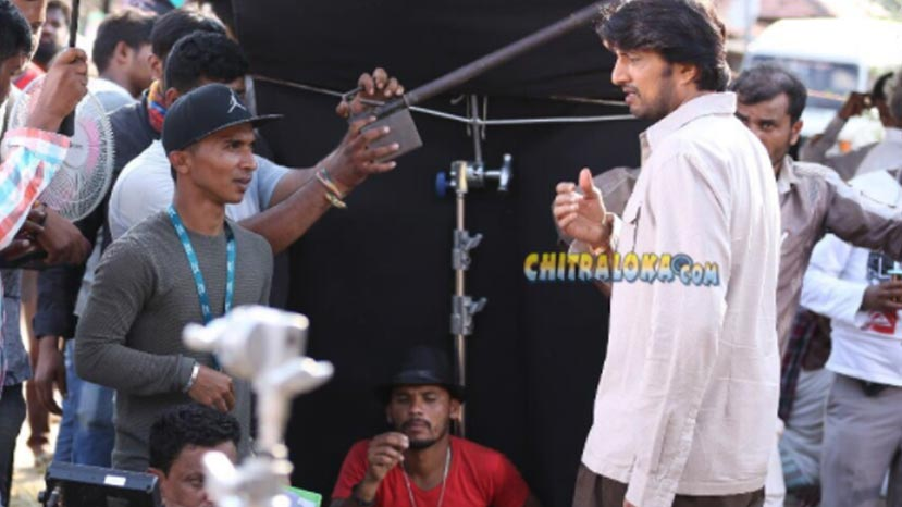 sudeep's young look