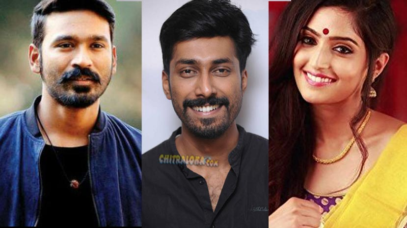 reba monica is heroine in dhanush's debut production