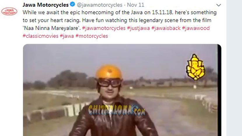 jawa bikes makes its come back