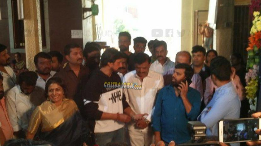 sudeep's kotigobba 3 launched