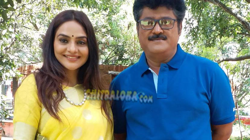 jaggesh shares screen with madhoo