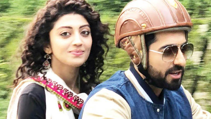 praneetha teaches kannada to hinid actor