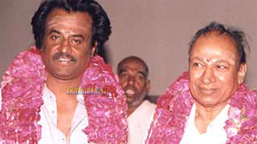 rajinikanth says 10 mgr is equal to 1 rajkumar