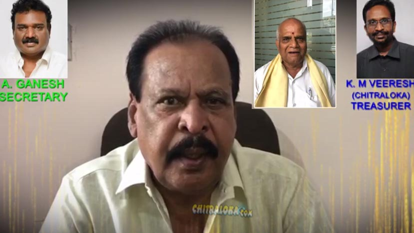 sa ra govindu announces his support to chinnegowda, a ganesh, km veeresh