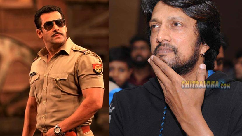 sudeep in dabang 3 ?