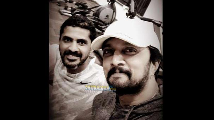 sudeep's intense workout for pailwan