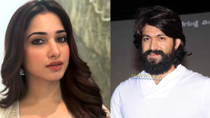 tamannah to shake leg with yash