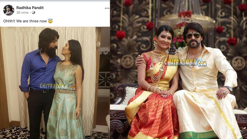 yash and radhika pandit shres good news with fans