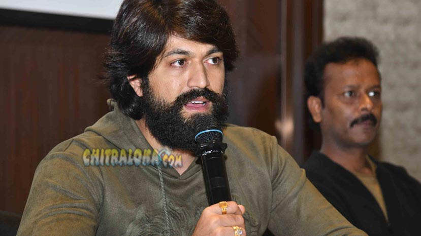 kgf releasing tomorrow says yash