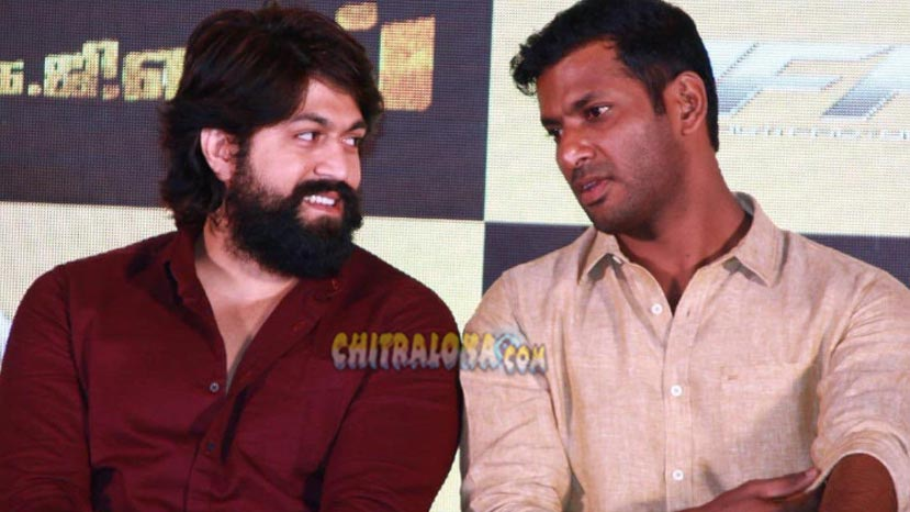 real reason why vishal is supporting yash's kgf