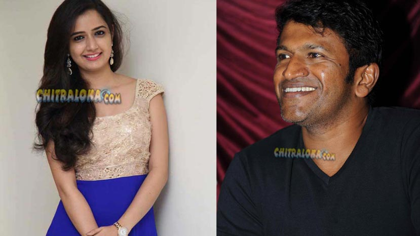ashika ranganath expresses desire to work with puneeth rajkumar