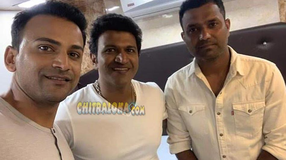 puneeth to launch dhananjay's badava rascal