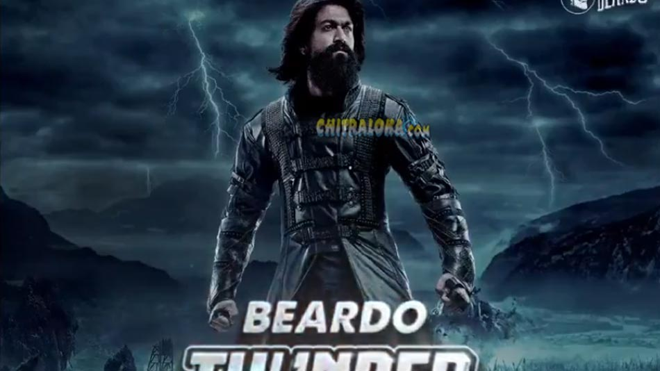 yash's beardo look creates thunder