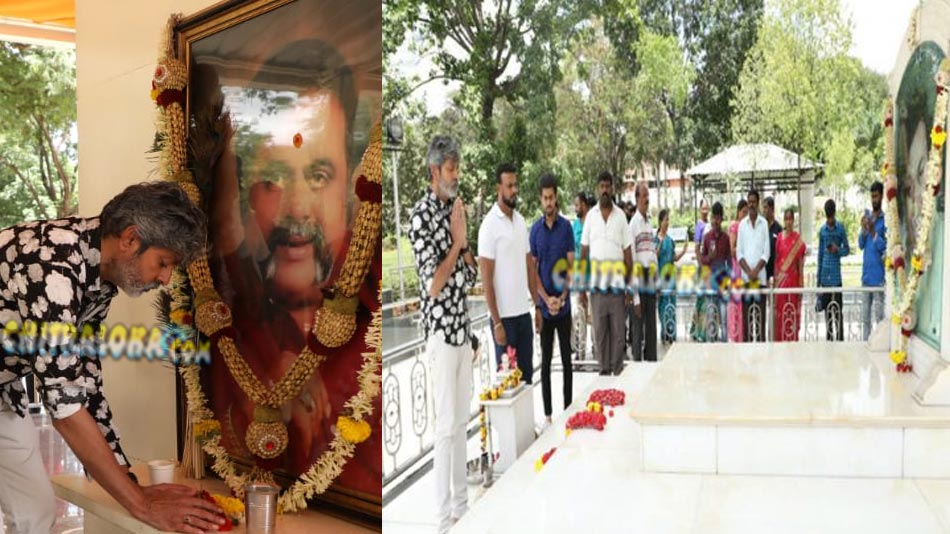 jagapathi babu pays homage to raj and ambareesh