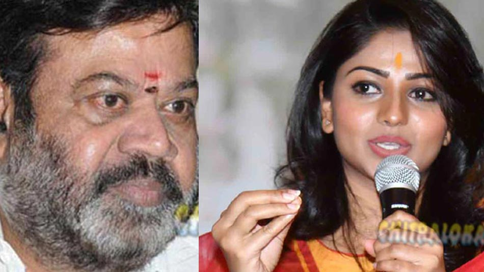 p vasu upset over rachita ram's words