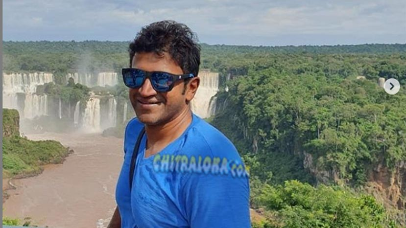 puneeth rajkumar in south america