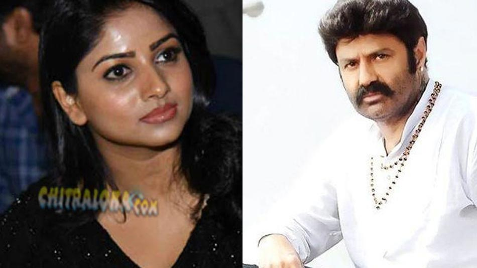 rachita ram heroine for balakrishna;s movie